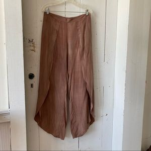 Anthropologie Drew Spice Tulip Lounging Pants